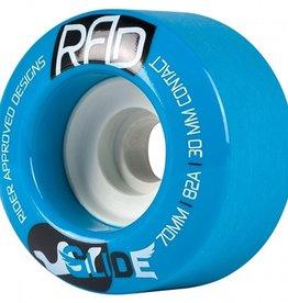 RAD RAD- Glide- 70mm- 82a- Blue- Wheels