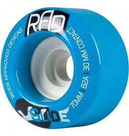 RAD RAD- Glide- 70mm- 82a- Blue- Wheels
