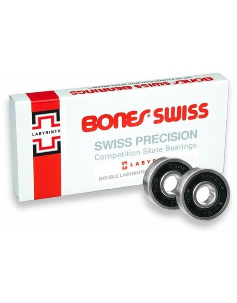 Bones Bones Bearings- Swiss Labyrinth II- Bearings- 8mm
