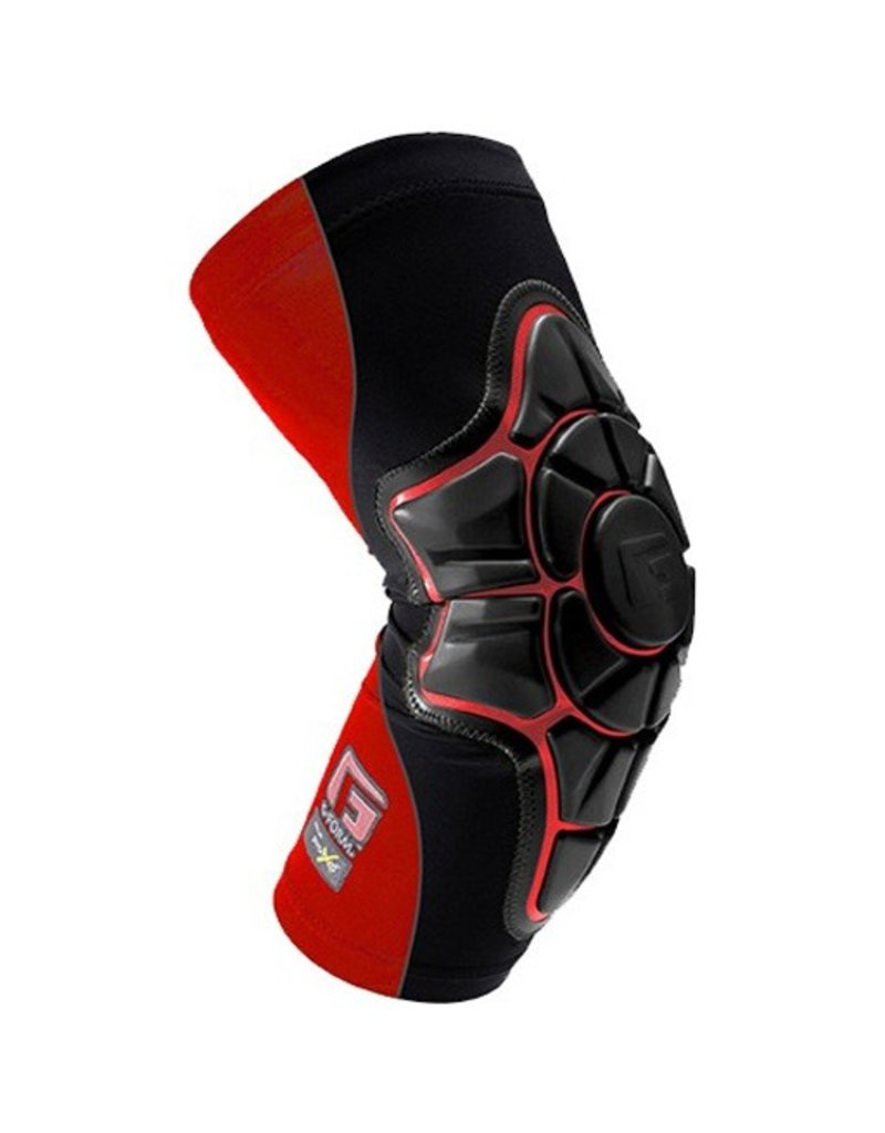 G-FORM G-FORM- Elbow Pad- Black/ Black with Red