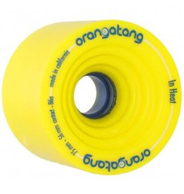 Orangatang Orangatang- In Heat- 75mm- 86a- Yellow- Wheel