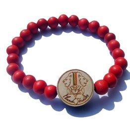 Planch Studios- PS Original- Bracelet, Red, OSFA
