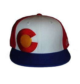 Aksels Aksels- Colorado- Flat Brim- Throwback- Hat