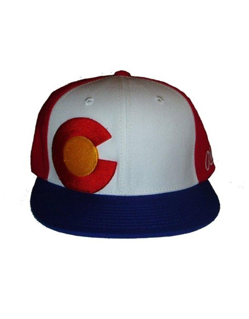 Aksels Aksels- Colorado- Flat Brim- Throwback- Hat