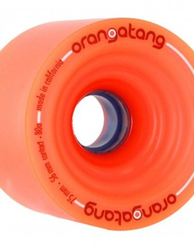 Orangatang Orangatang- In Heat- 75mm- 80a- Orange- Wheel