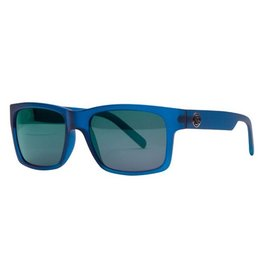 Filtrate Filtrate Eyewear- John Brown- Blue Frost with Green Mirror lens