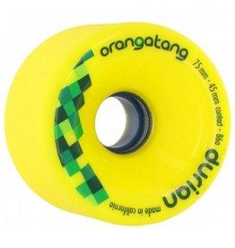 Orangatang Orangatang- Durian- 75mm- 86a- Yellow- Wheel