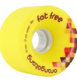 Orangatang Orangatang- Fat Free- 65mm- 86a- Yellow- Wheel