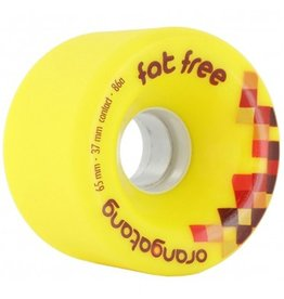 Orangatang Orangatang- Fat Free- 65mm- 86a- Yellow- Wheel