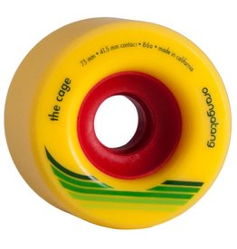 Orangatang Orangatang- The Cage- 73mm- 86a- Yellow- Wheel