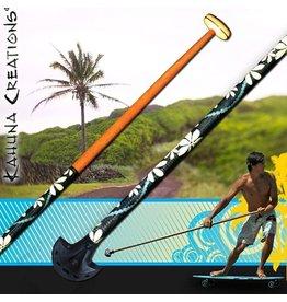 Kahuna Creations Kahuna- Big Stick- Classic Wooden- 5 foot 6 inch- Street Paddle