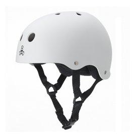 Triple Eight Triple Eight- Brainsaver- White Rubber- Helmet