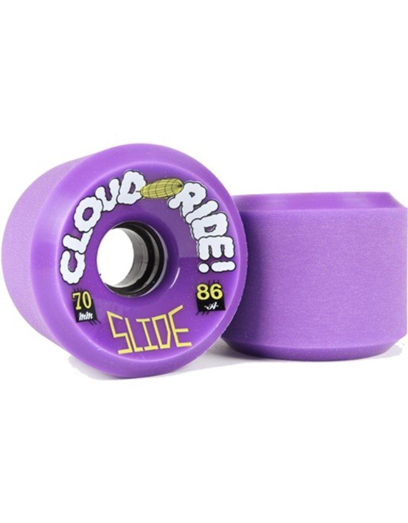 Cloud Ride Cloud Ride- Slide- 70mm- 86a- Purple- Wheels
