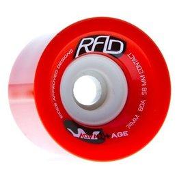 RAD RAD- Advantage- 74mm- 80a- Red- Wheels