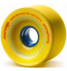 Orangatang Orangatang- Moronga- 72.5mm- 86a- Yellow- Wheel