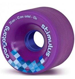Orangatang Orangatang- Stimulus- 70mm- 83a- Purple- Wheel