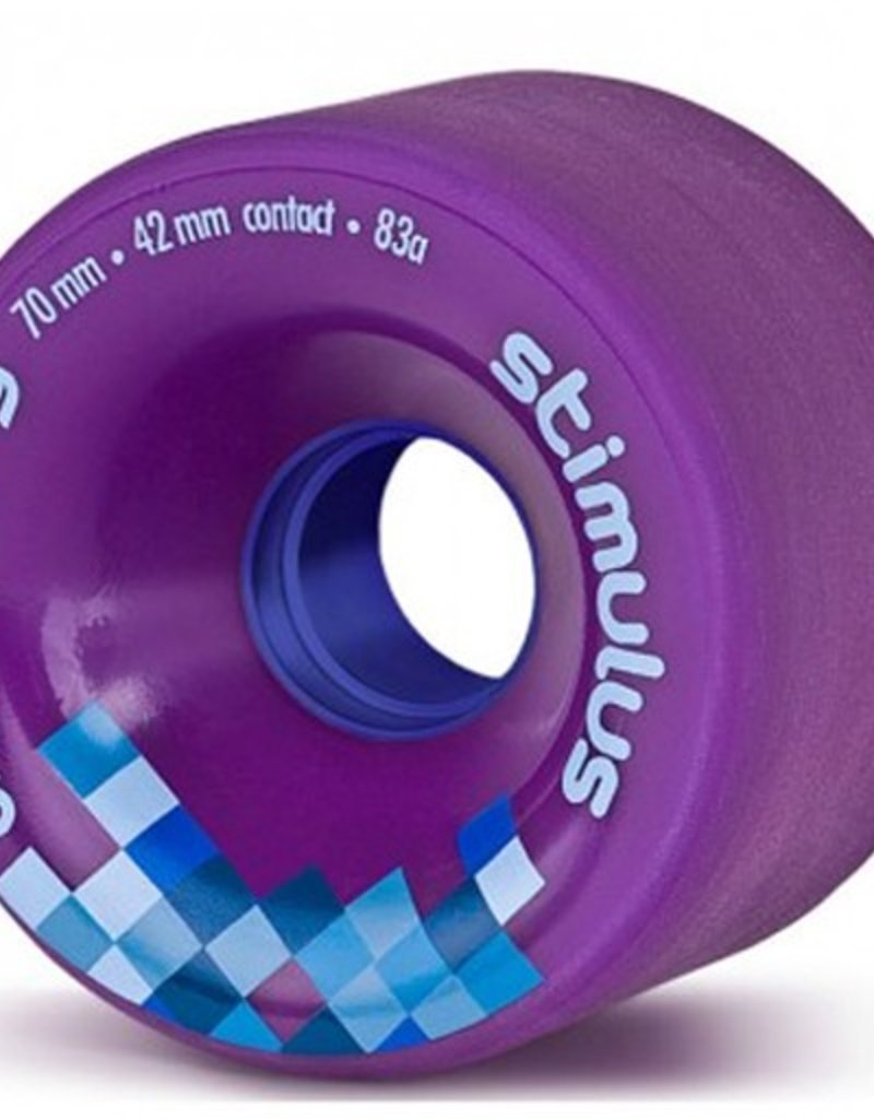 Orangatang Orangatang- Stimulus- 70mm- 83a- Purple- Wheel