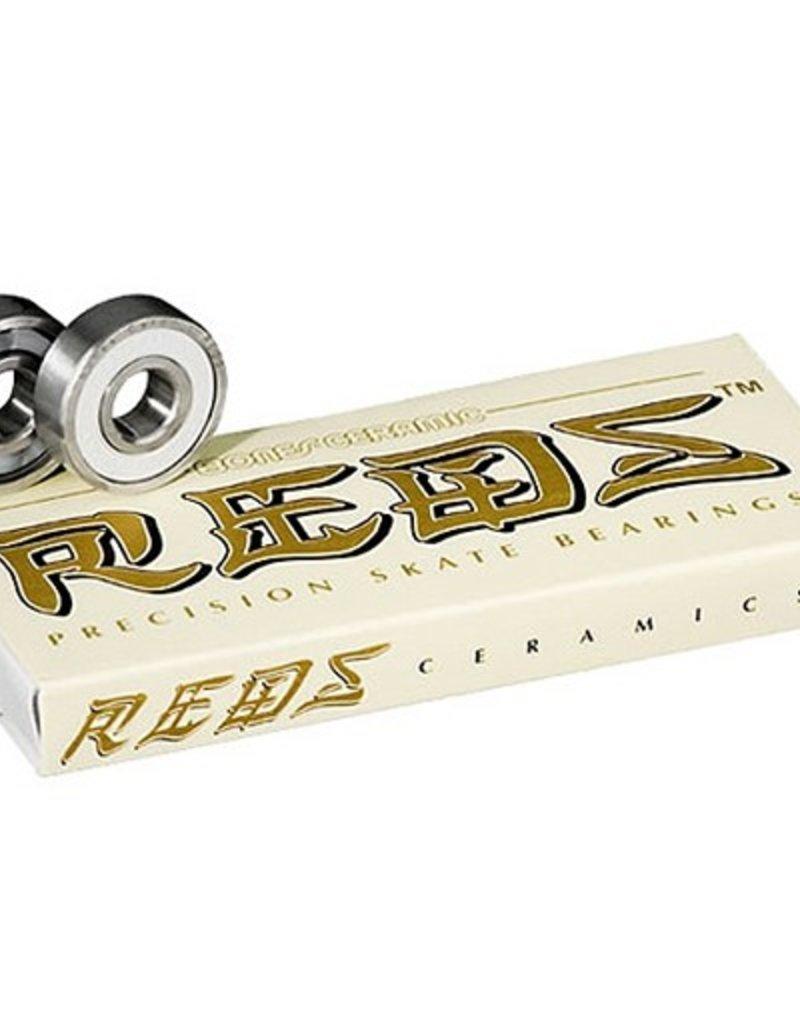 Bones Bones Bearings- Ceramic Super REDS- Bearings- 8mm