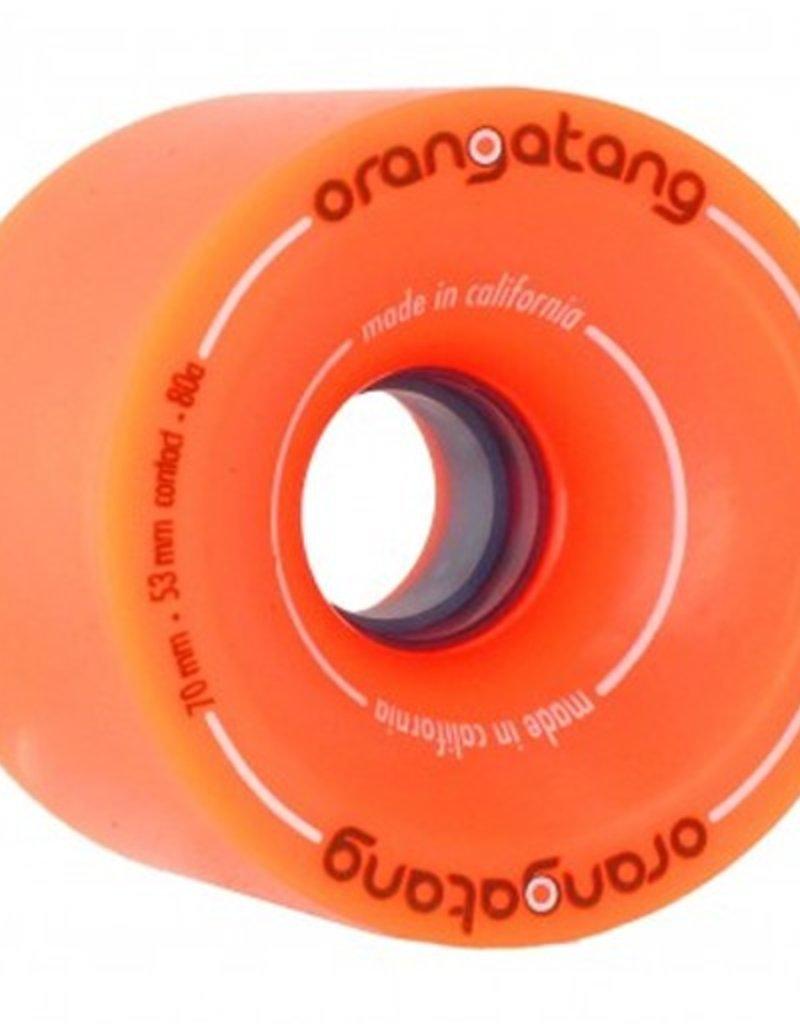 Orangatang Orangatang- 4 President- 70mm- 80a- Orange- Wheel