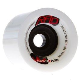 RAD RAD- Advantage- 74mm- 78a- White- Wheels
