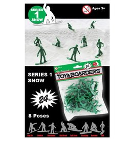 Toy Boarders Toy Boarders- Snow Figures- Toy- Series 1- 24 pieces