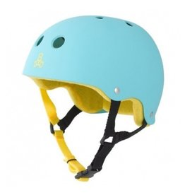 Triple Eight Triple Eight- Brainsaver- Baja Teal Rubber- Helmet