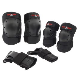 Triple Eight Triple Eight- Saver Series- Elbow, Knee and Wrist Pad- 3 pack- High Impact