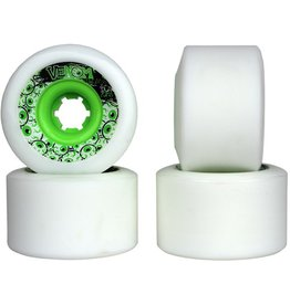 Venom Venom- Tweaker- 70mm- 80a- White with Green Core- Wheels