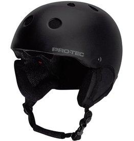 Pro-Tec Pro-Tec- Classic Snow- Satin Black- Helmet
