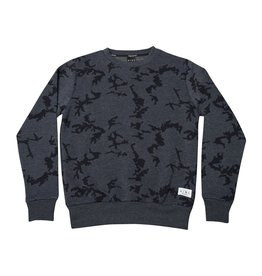 King Apparel- Night Camo Crew- Navy
