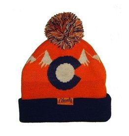 Aksels Aksels- Colorado Mountain Orange- Beanie
