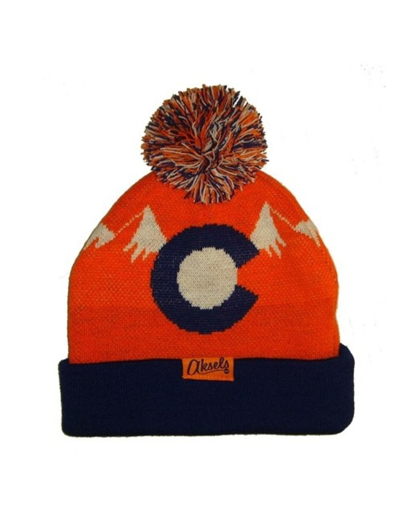 Aksels Aksels- Colorado Mountain Orange- Beanie