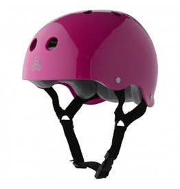 Triple Eight Triple Eight- Brainsaver- Pink Gloss- Sweatsaver Liner- Helmet