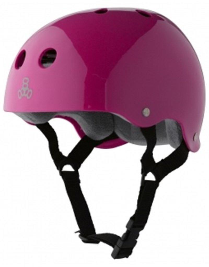 Triple Eight Triple Eight- Brainsaver- Pink Gloss- Sweatsaver Liner- Helmet