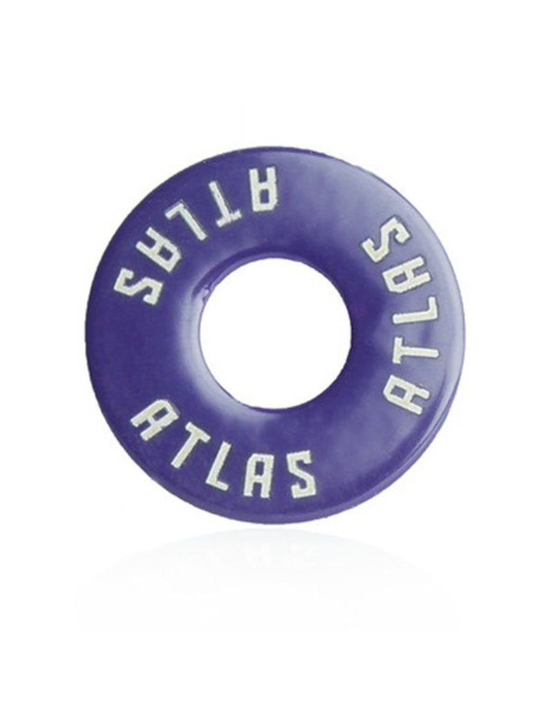 Atlas Trucks Atlas- Flat Washer- Purple- Set of 2