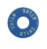 Atlas Trucks Atlas- Flat Washer- Blue- Set of 2