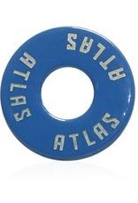 Atlas Trucks Atlas- Flat Washer- Blue- Set of 2