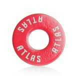 Atlas Trucks Atlas- Flat Washer- Red- Set of 2