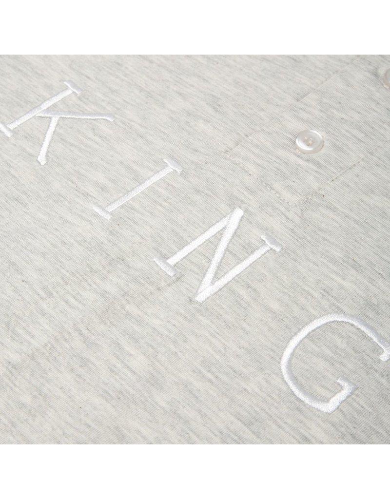 King Apparel- Staple- Long Sleeved- Grey