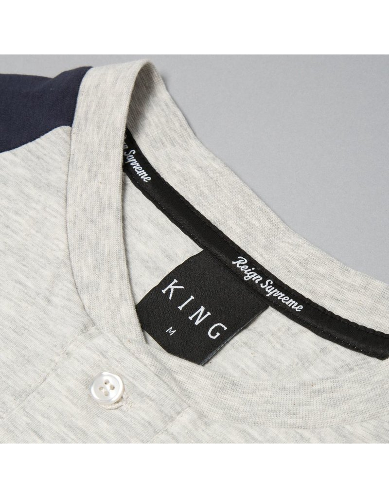 King Apparel- Staple- Long Sleeved- Grey