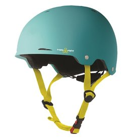 Triple Eight Triple Eight- Gotham- Teal Rubber- Dual Certified Helmet with EPS Liner