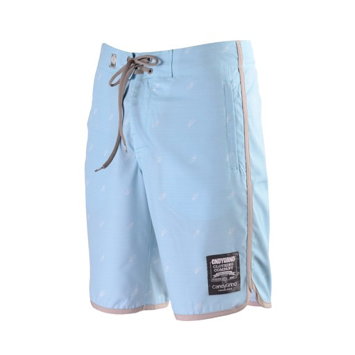 Candygrind Candygrind- Pinstripe- 309- OG Athletic Fit- Sky Blue- Boardshorts