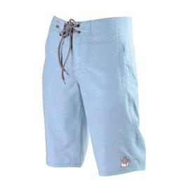 Candygrind Candygrind- Pinstripe- 311- Standard Slim Fit- Sky Blue- Boardshorts