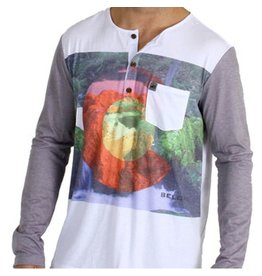 Belong Designs Belong- Everything CO Pocket Raglan- Grey- T-Shirt