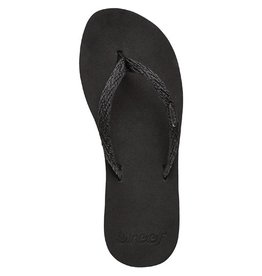 Reef Reef- Ginger- Women's Flip Flop- Black