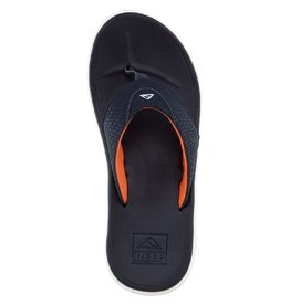 Reef Reef- Rover- Men's Flip Flop- Navy and Orange