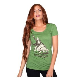 Headline Headline- Galapagos- Green- Women's- T-Shirt