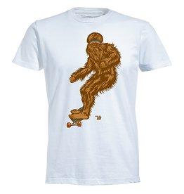 Ames Bros Ames Bros- Bjorn to Skate- Short Sleeve- White- T-Shirt