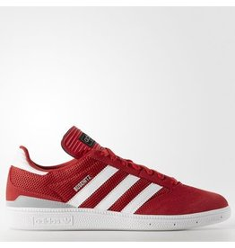 adidas adidas- Busenitz- Scarlet, White, and Silver Met- Men's- Skate Shoe