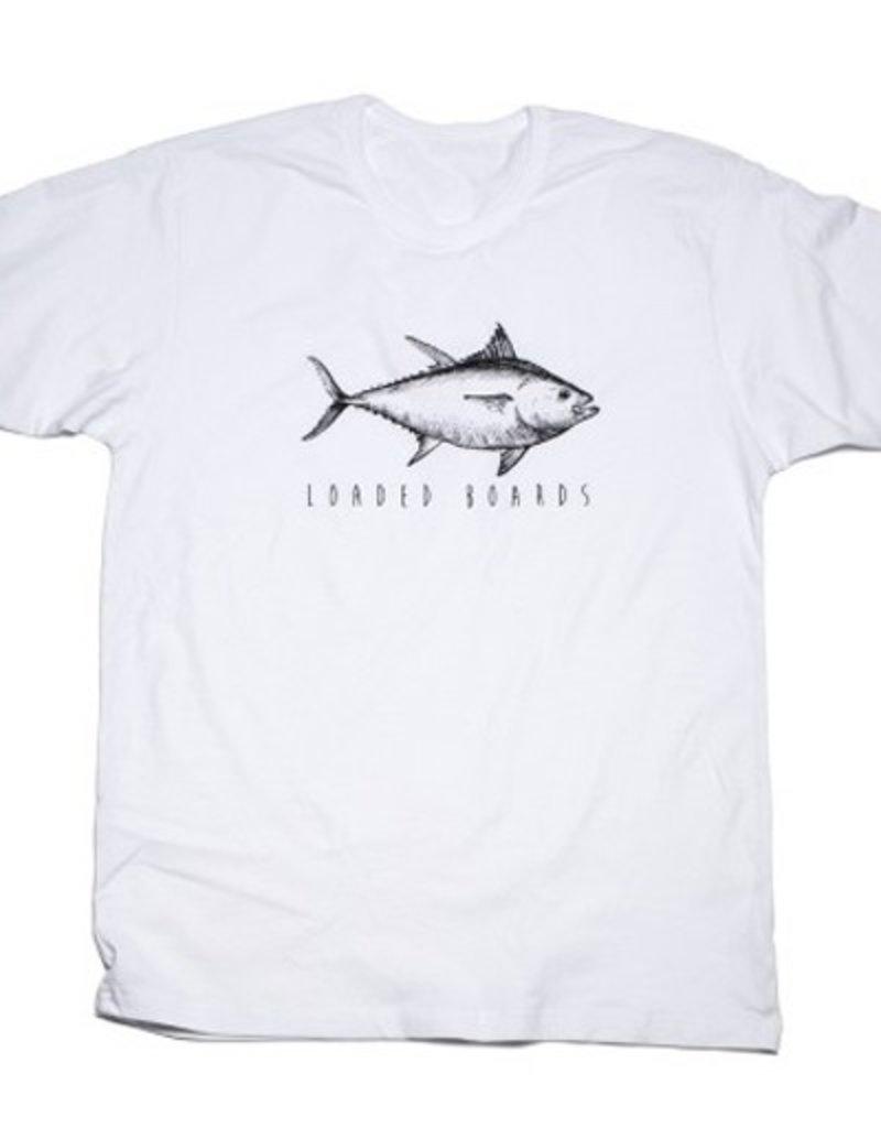Loaded Loaded- Tuna- White- T-Shirts